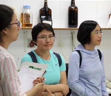 Επίσκεψη Κινέζων γεωτεχνικών στη VITRO Hellas