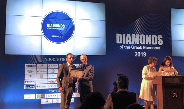 Διάκριση της Vitro Hellas στα Diamonds of the Greek Economy
